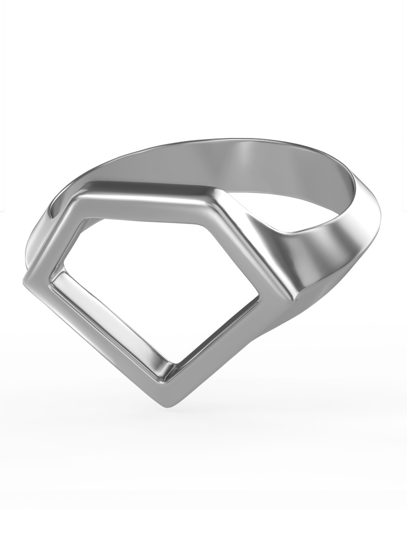 0800 Don Rouch Silver Soul Ring Rings Silver