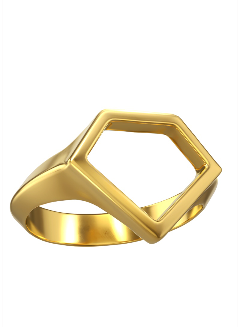 0800 Don Rouch Gold Soul Ring Rings Gold